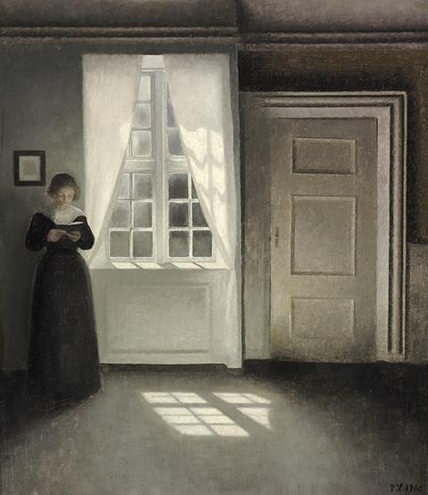 Risultati immagini per Vilhelm Hammershøi